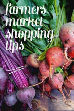 Farmers Market Shopping Tips // Feast + West Paleo Diet For Beginners, Grocery Deals, Food Hacks, Food Tips, Paleo Recipes Easy, Shopping Tips, Paleo Breakfast, Canning Recipes, Baking Tips