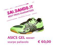 asics gel rocket • scarpe pallavolo UOMO
