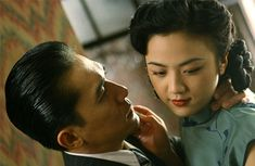 """In their own separate interviews, Tang Wei and Tony Leung Chiu-wai imply that their explicit scenes in """"Lust, Caution"""" were real. Hulk 2003, Bed Scene, Ang Lee, Chinese Movies, Movie Couples, Asian Celebrities, Amazon Prime Video, China, New Hobbies"""