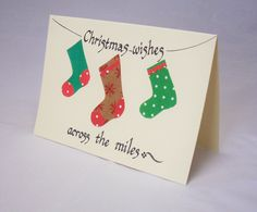Christmas card,christmas overseas card,christmas stocking card,christmas…