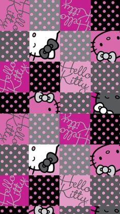 Hello Kitty Iphone Wallpaper, Hello Kitty Backgrounds, Hello Kitty Wallpaper, Wallpaper Iphone Cute, Pink Wallpaper, Cute Wallpapers, Wallpaper Backgrounds, Hello Kitty Jewelry, Hello Kitty Items