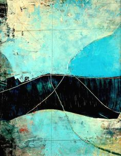 abstract post modern contemporary art painting , print encaustic and oils , landscape .untitled oil-and-wax-abstract-painting-with-cold-wax-medium Pablo Picasso, Modern Art, Contemporary Art, Backgrounds Wallpapers, Medium Art, Love Art, Painting Inspiration, Painting & Drawing, Amazing Art