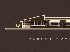 I love how the shadows were used to make the logo really stand out.  Sahand Nayebaziz via Dribbble