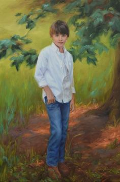 Chris Kling Landscape Gallery..............In portraits I use this richness to present an individual and show not only their appearance but also a part of their personality. When I've done this I know it has been a successful painting that a family can cherish.