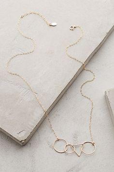 Anthropologie Geometry Necklace #anthrofav #greigedesign