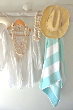 summer beach style  beachcomber shell necklaces