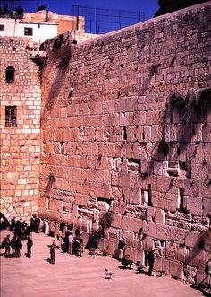The Wailing Wall, Western Wall, Prayer Wall...holy heritage...