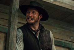 This squint is very Jesse-like // The Magnificent Seven