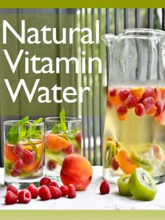 SUMMER READING: Natural Vitamin Water :The Ultimate Recipe Guide - Over 30 Healthy & Refreshing Recipes [Kindle Edition] #AddictedtoKindle