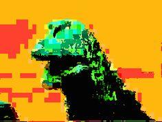 Everyone was Godzilla fighting Glitch Image, Glitch Gif, Glitch Effect, Image Meaning, Longboarding, King Kong, Animated Gif, Animation, Dinosaurs