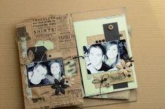 Un mini-album avec le Kit Multi*Pages de février...