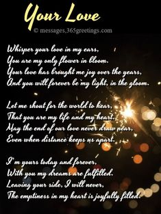 With these love poems for him, you can now tell your man how much you love and cherish him. This collection of love poems for boyfriend contain words that w Lucky Quotes, First Love Quotes, Soulmate Love Quotes, Love Quotes Poetry, Love Quotes For Him, Love Poems For Husband, Love Poems For Boyfriend, Love Poem For Her, Poems For Him