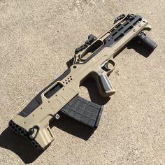 D12 bullpup shotgun