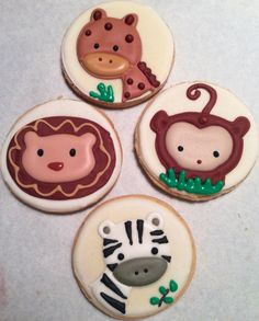 Wildlife cookies