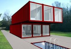 Resultado de imagen para container home plans