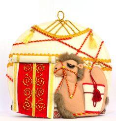 Bears, Christmas Ornaments, Holiday Decor, Handmade, Home Decor, Xmas Ornaments, Homemade Home Decor, Hand Made, Christmas Jewelry