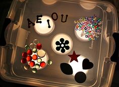 DIY Light Box for Kids: A great tool to teach your kids how to trace or create colorful crafts.