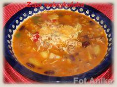 Zupa meksykańska             Bardzo  gęsta, pożywna zupa. Dobra na chłodniejsze pory roku. Dodaje energii na  zimowy i jesienny czas.W zu...
