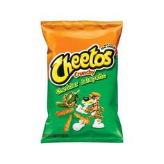 Cheetos Crunchy Cheddar Jalapeno Flavored Snacks 9.5 oz (27 CAD) ❤ liked on Polyvore featuring food