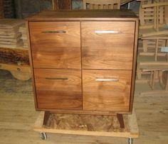 ATOCHA DESIGN: RECORD CABINET (4 LP DRAWERS $ 3,900)