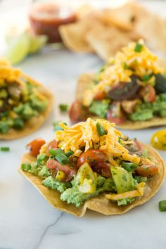 Avocado Tostadas with Tomato Salad by What's Gaby Cooking