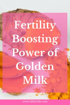Golden Milk and it's secret superpower Turmeric have been known to bring many health benefits, especially for women trying to conceive. Learn how powerful Golden Milk can be and how it can boost your fertility. Fertility Smoothie, Fertility Foods, Natural Fertility, How To Boost Fertility, Acupuncture Fertility, Trouble Getting Pregnant, Get Pregnant Fast, How To Conceive, Trying To Conceive