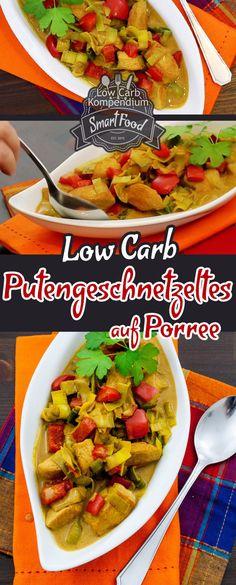 Eine leckere Variation mit Porree & gesunder Paprika. Curry gibt die richtige Würze. Ein tolles & schnelles Low-Carb Rezept :)