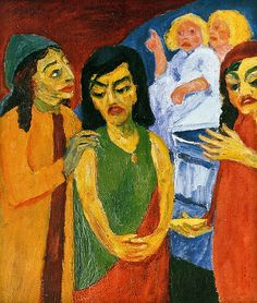 [ N ] Emil Nolde - Frauen am Grabe (Women at the Tomb) (19… | Flickr