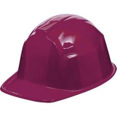 Burgundy Construction Hat - Party City