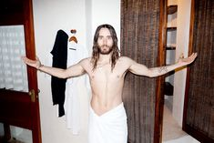 Jared Leto Gets Naked For Terry Richardson: PHOTOS | NewNowNextNewNowNext