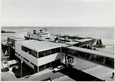Et meget debatteret kapitel i Helsingørs Historie Sukkenes Bro og den hvide terminal ved DSB færgerne Helsingør