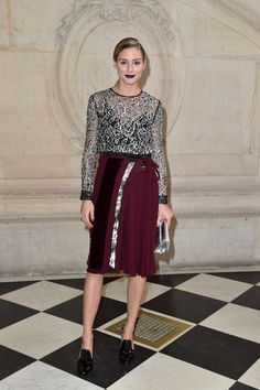 SEMPRE NA MODA: Olivia Palermo, the Christian Dior!