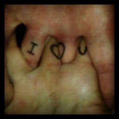 Aww my couple tattoo :)