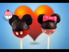 Cakepops de Mickey Mouse! Aprenda como fazer bolo pops Mickey - A Addiction Tutorial Cupcake