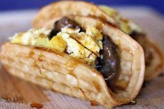 Taco Bell testing a new Waffle Taco, Yes Please!