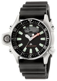 a86be0101376a Citizen Herrenuhr Promaster Marine Aqualand I Tiefenmesser