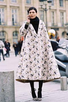 Vanessa Jackman: Paris Fashion Week AW 2013....Giovanna