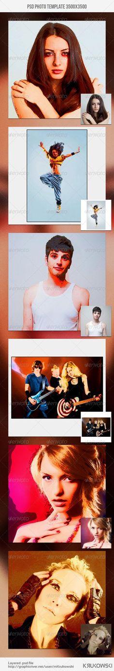 Pop Art Photo Template