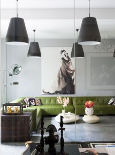 Modern creative living room * Interiors * The Inner Interiorista