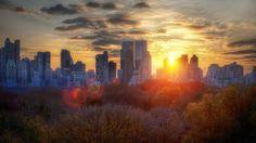 Beautiful view of New York City 😍
