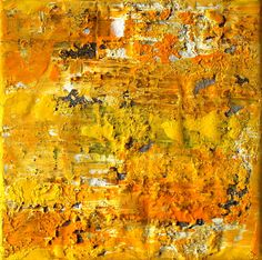 Abstract-painting curry original painting mixed von AtelierMaltopf