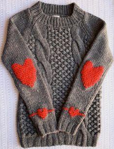 Visto aquí: http://onesheepishgirl.blogspot.com.es/2012/01/sweater-makeover-duplicate-stitch-heart.html