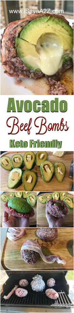 Keto Friendly Avocado Beef Bombs Recipe