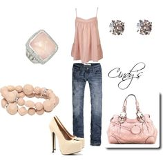 """Pretty in Pink"" by cindycook10 on Polyvore"