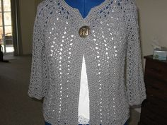 Ravelry: Chevron Lace Cardigan pattern by milobo