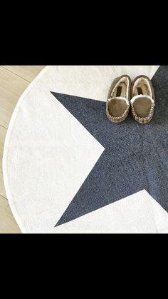 Alfombra algodón lavable con estrella para bebés y niños, disponible en Etoile No.5 www.etoileno5.com