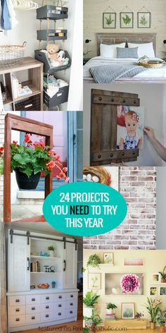 Remodelaholic | 24 DIY Projects You NEED to Try This Year #DIY #NewYear #Projects