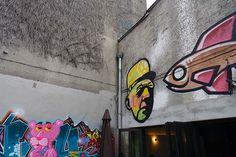 Basilic Cafe Lille | http://www.yourlittleblackbook.me/nl/basilic-cafe-lille/  Rijsel travel travelguide cityguide restaurant art gallery hotspot street art urban graffiti