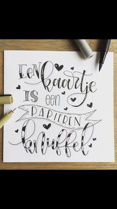 Hand Lettering Alphabet, Doodle Lettering, Brush Lettering, Bullet Journal Quotes, Bullet Journal Inspiration, Book Journal, Xmas Cards, Diy Cards, Be An Example Quotes