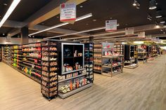 #Grocery Custom #woodfixtures